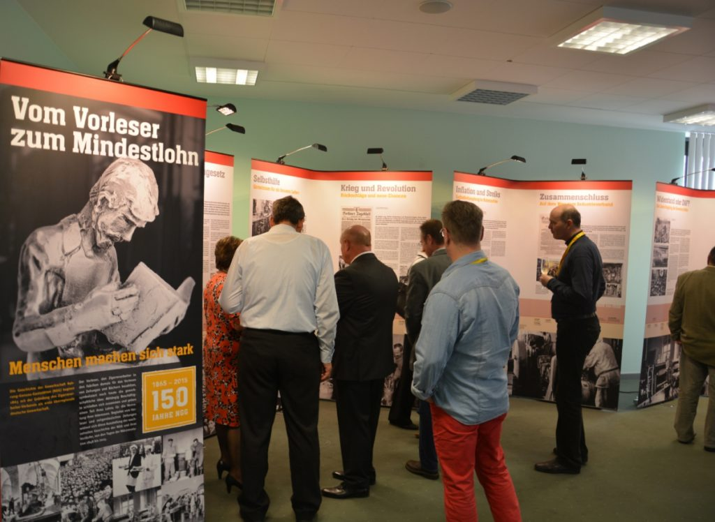Opening of the Exhibition about the NGG history on April 11, 2015 in Erkner. © Facts & Files
