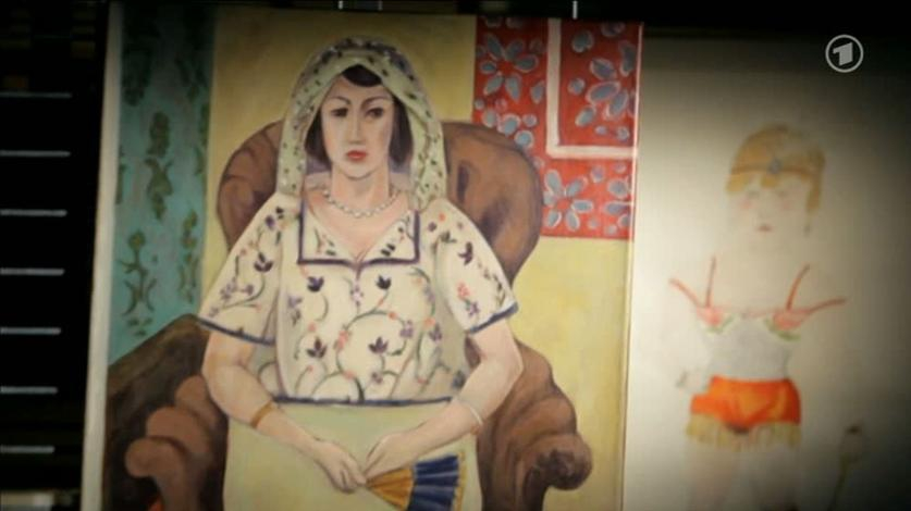 Henri Matisse, Femme assise dans un fauteuil / In einem Sessel sitzende Frau, 1921 © WDR/Helmut Metzmacher