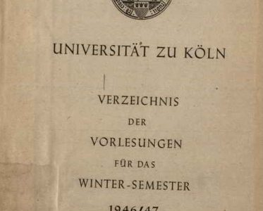 Expert Report for the University of Cologne