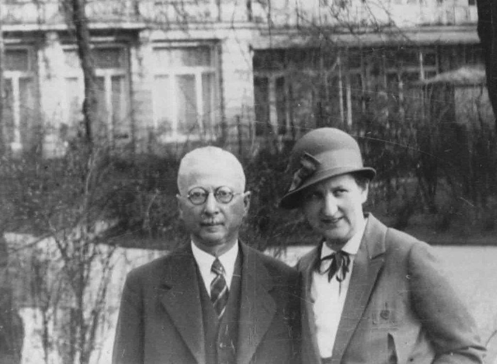 Georg und Lotte Koch, 1930. © Familie Friedländer