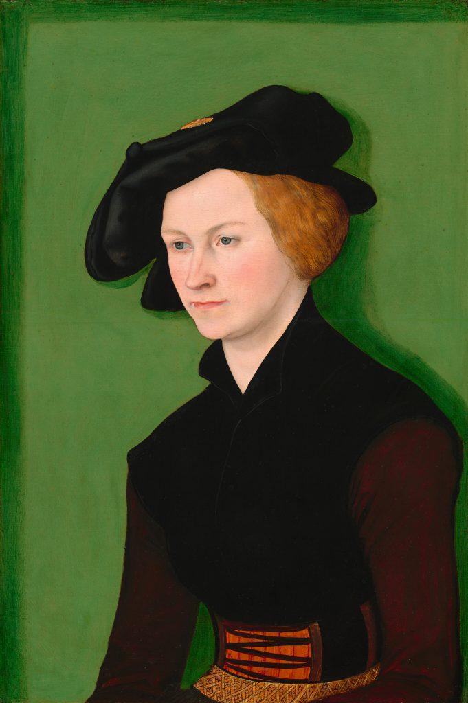 Lucas Cranach, der Ältere: Portrait eines Frau, 1522